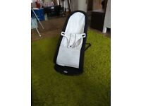 Baby Bjorn bouncer black/white £50