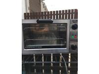 Convection grill oven