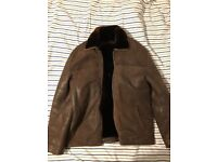 Brown Genuine Shearling Leather Jacket