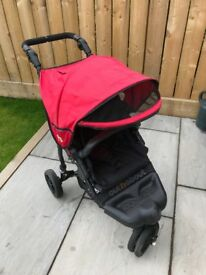 Out n about Nipper single pram / buggy