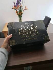 The complete Harry Potter book collection