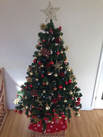 5ft / 1.5m Artificial Christmas tree