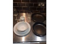 Moving out: Selling our 8 month old IKEA kitchen/ table ware cheaply,