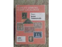 Stanley Gibbons stamp catalogue - Part 1 British Commonwealth 1980