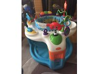 Baby Entertainment centre with rotating seat