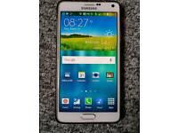 Samsung galaxy note 4. white 32gb