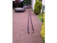 40mm Black nylon rope, Anchor, Boat, Mooring, Yacht, Builders,Choose your length