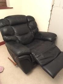 Black Lazboy Recliner