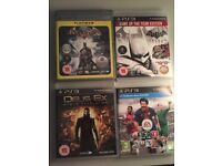 PS3 games - bundle - 4 games inc Batman