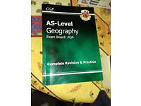 AS - Level Geography AQA for sale  West Yorkshire