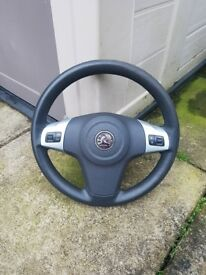Corsa D Steering Wheel