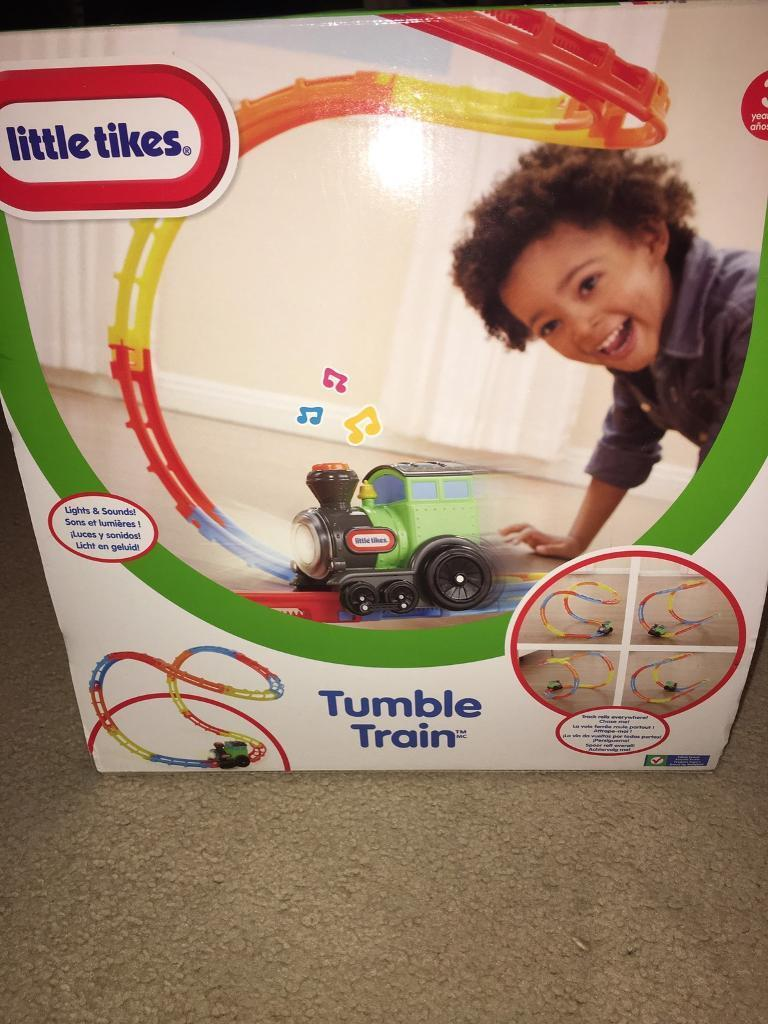Little Tikes Tumble Train on track Toddler Toy