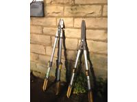 Fork,Spade,Bush Clippers,Secateurs,Branch cutter (all TOP QUALITY)