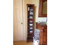 2 antix oak cd racks