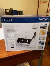 Brother QL-500 label printer