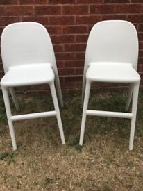 Junior Urban Ikea chairs in white - ONLY ONE LEFT