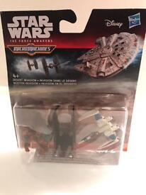 Brand new micro machines / Star Wars twin set