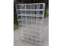 galvanised wire boot rack/shoe rack/storage
