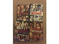 Grey's Anatomy box sets seasons 1-4 DVD
