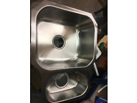 1.5 bowl undermount sink