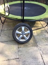 Honda Civic 2006 To 2010 16 inch Alloy Wheel with Tyre 205/55/16