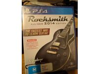 *Sealed* Rocksmith 2014 PS4 With Genuine Cable