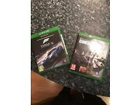 Xbox one games for sale ( forza 6 + rainbow 6 siege )