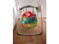 bright starts swing chair