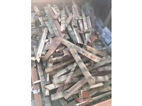 Free decking for fire wood