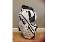 Ping DLX Golf Cart Bag in White