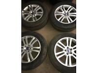 VOLVO XC90 WHEELS with winter tyres