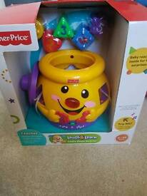 Fisher price cookie jar brand new
