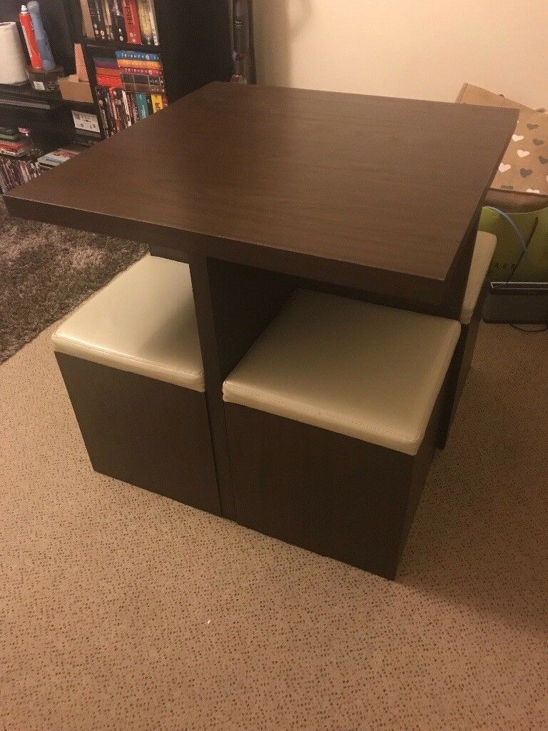 Strange Space Saving Dining Table And Chairs In Pontardawe Swansea Gumtree Machost Co Dining Chair Design Ideas Machostcouk