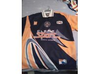 Castleford tigers shirt. XL. clearsport.