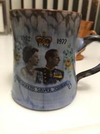 Ewenny Pottery Queens Jubilee 1977