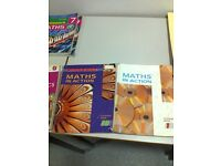 Maths text books - lots of different titles for GCSE's and some A level ones too!