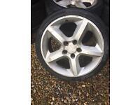 """Vauxhall Astra 17"""" alloy wheels 5x110"""