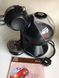 Krups dolce gusto Nescafé coffee machine