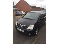Vauxhall Meriva 2004 Design 1.7tdci - black tinted windows, low mileage 74512