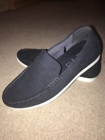 Navy Casual Shoes - Size 9
