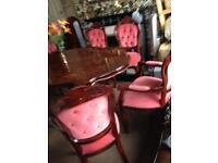 Beautiful Italian Table set incl 6chairs BARGAIN