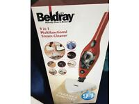 BELDRAY NEW MULTIFUNCTIONAL STEAM CLEANER
