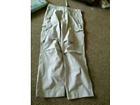 "Cherokee Cotton Trousers, Waist 34"", Leg 32"""