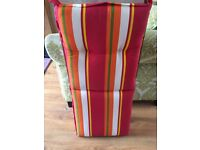 Garden chairs lounge cushions pads tie on