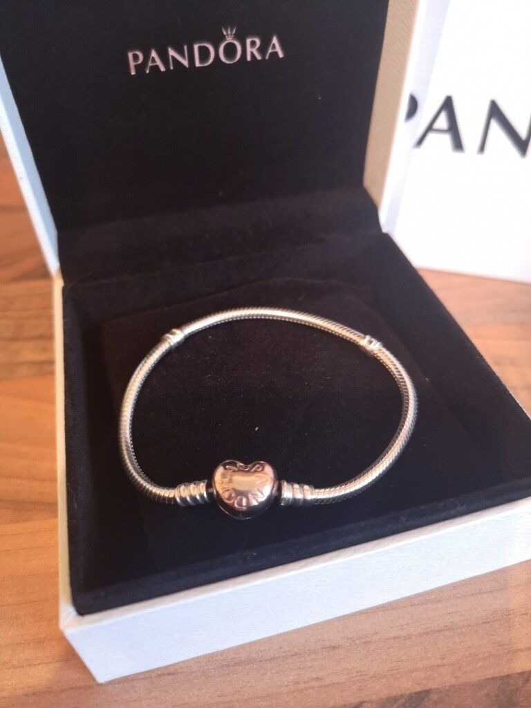 35fadcc25 Genuine Pandora rose gold bracelet 18cm | in Malvern ...