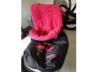 Pram and attatchments excellent condition as new