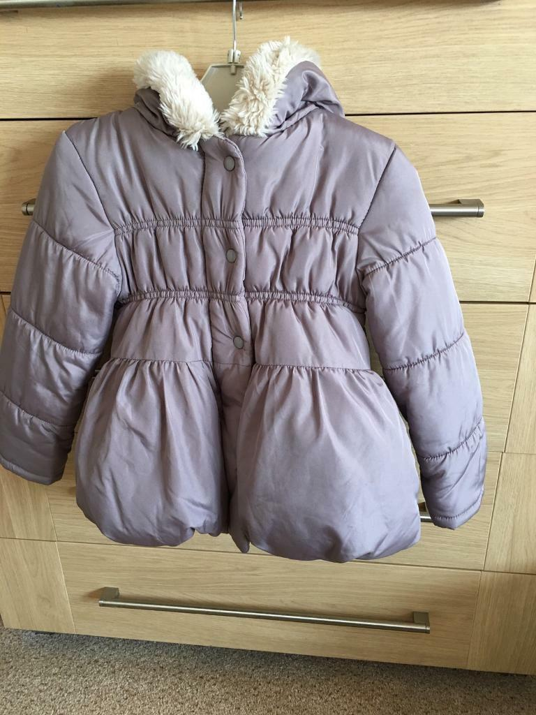 George girls fawn coat age 4/5 years
