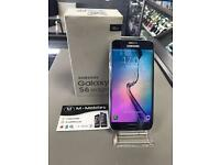 Samsung S6 edge 64gb UNLOCKED black sapphire with warranty