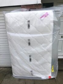 AIRSPRUNG BOWER MEMORY FOAM 4FT MATTRESS (small double) £80 delivered