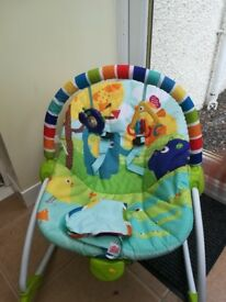 Bright Starts 3 in 1 Rocker/Bouncer